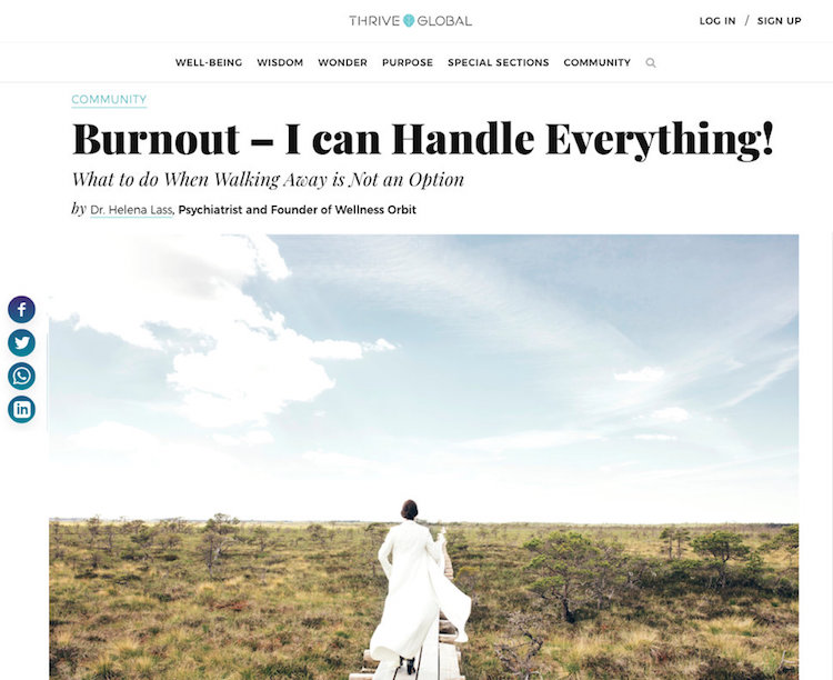 Burnout – I can Handle Everything!