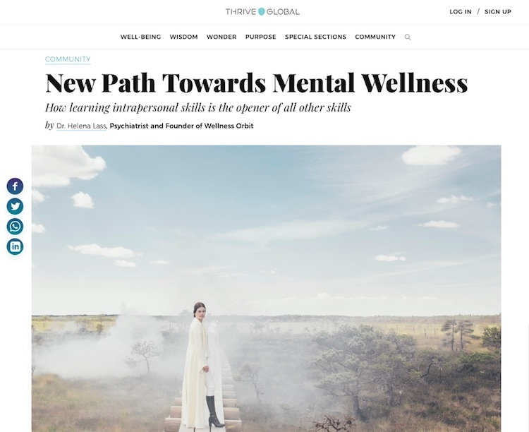 New Path Towards Mental Wellness