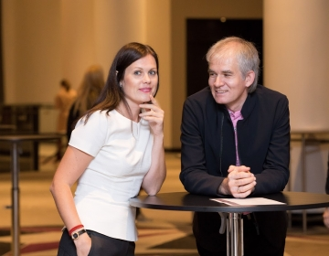 Dr. Helena Lass and Kaur Lass @ HR Summit Tallinn 14/10.2016. Photo: Confinn