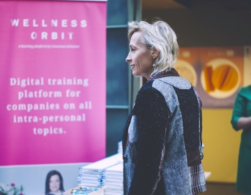 First pre-launch event @ Conscious Initiative Conference, Tallinn 05/2016. Photo: Kristina Kozlovskaja