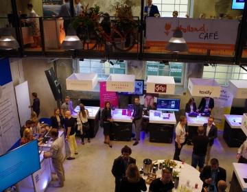 Wellness Orbit box @ Startup & Tech conference Latitude 59, Tallinn 06/2016. Photo: Kaur Lass