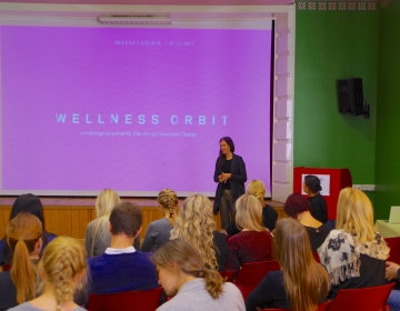 Dr. Helena Lass @ Innovation Clinic by Connected Health, Tallinn 11/2017. Photo: Kaur Lass