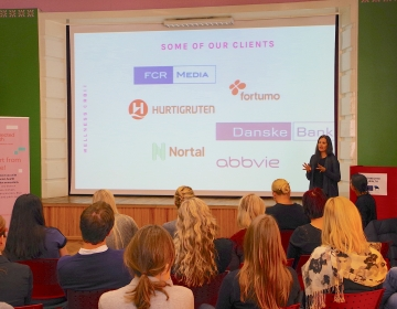 Dr. Helena Lass @ Innovation Clinic by Connected Health, Tallinn 11/.2017. Photo: Kaur Lass