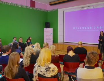 Dr- Helena Lass @ Innovation Clinic by Connected Health, Tallinn 11/2017. Photo: Kaur Lass