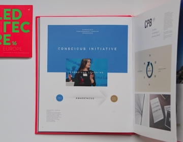 The book 'SELECTED 16' featured the best design solutions of the whole Europe, ours included!