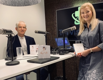 Kaur Lass was intervied for Tervisetrend podcast by Kadi Tasa 11/2019. Photo: Tervisetrend