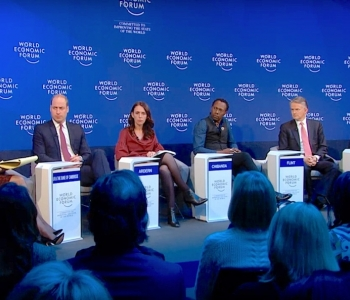 High profile mental health panel in Davos