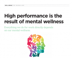 Dr. Lass has Mental Wellness Article featured in New Zealand HR magazine!